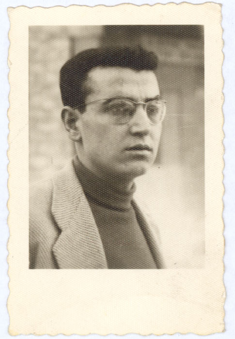 Theo Angelopoulos a 18 anni, 1953